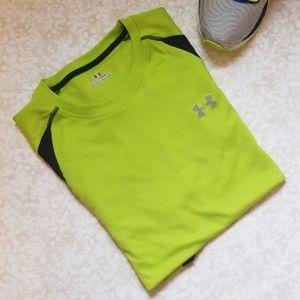 Under Armor Men's Exercise T-Shirt Heat Gear Large